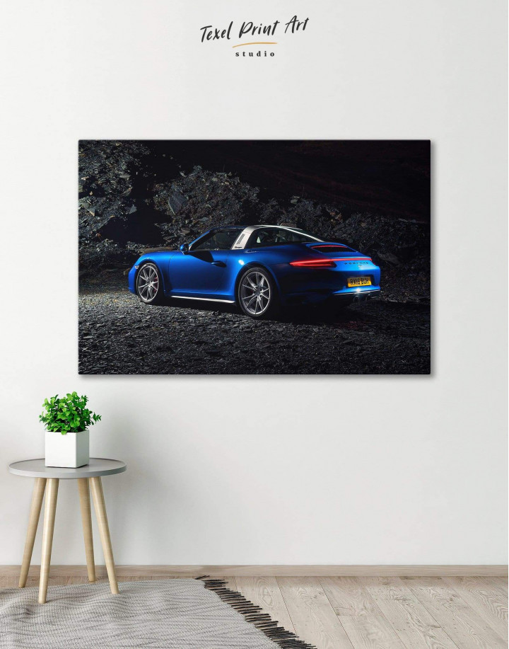 Porsche Targa 4 Canvas Wall Art - Image 0