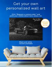Porsche Targa 4 Canvas Wall Art - Image 1
