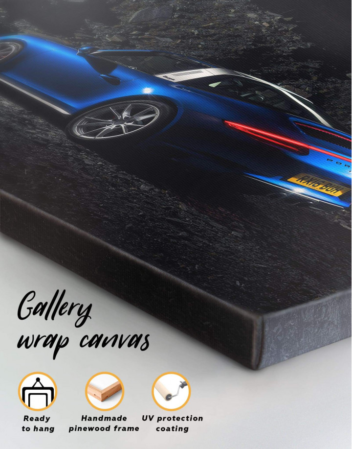 Porsche Targa 4 Canvas Wall Art - Image 5