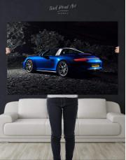 Porsche Targa 4 Canvas Wall Art - Image 4