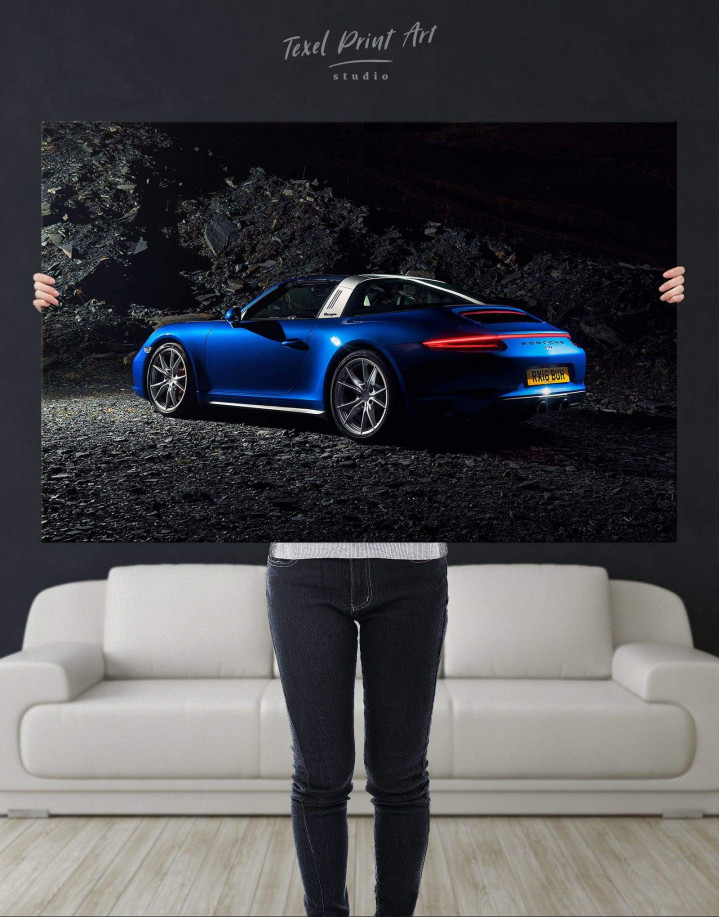 Porsche Targa 4 Canvas Wall Art - Image 4