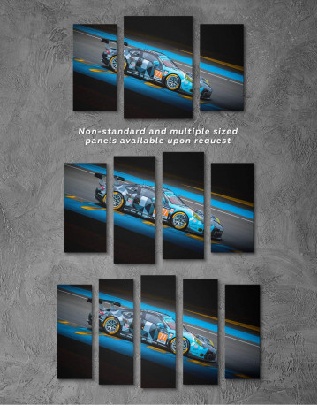 Touring Car Racing Canvas Wall Art - image 2
