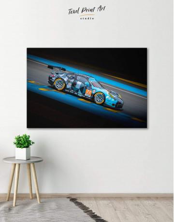 Touring Car Racing Canvas Wall Art