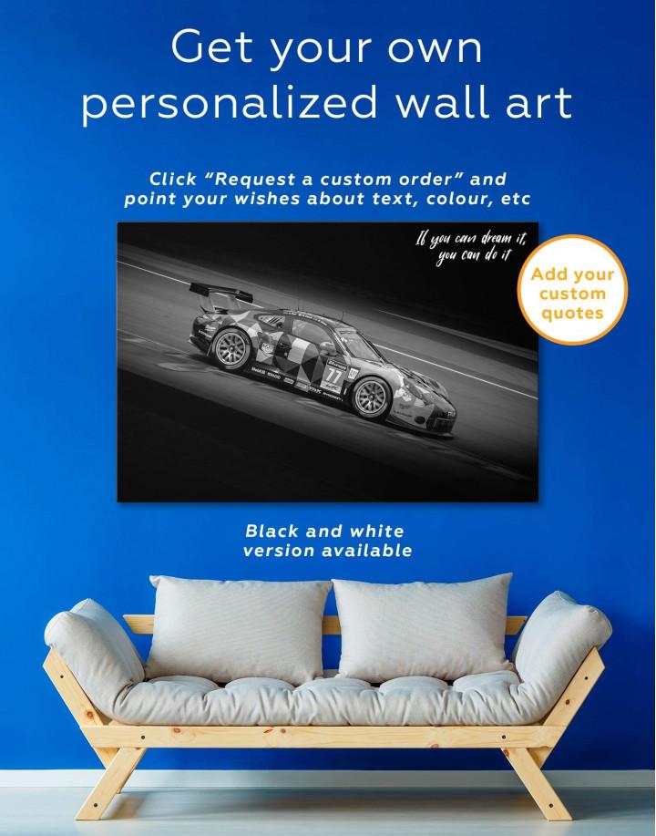 Touring Car Racing Canvas Wall Art - Image 1