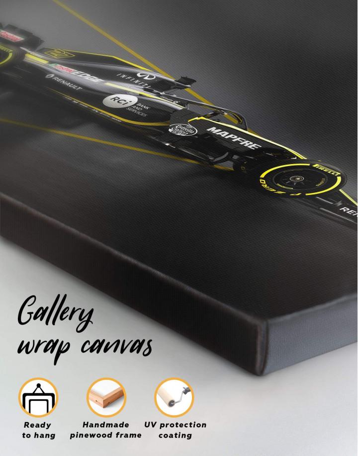 Formula 1 Renault Bolid Canvas Wall Art - Image 4