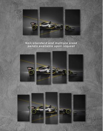 Formula 1 Renault Bolid Canvas Wall Art - image 1