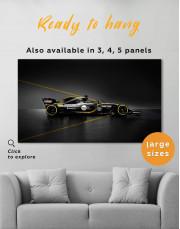 Formula 1 Renault Bolid Canvas Wall Art - Image 0