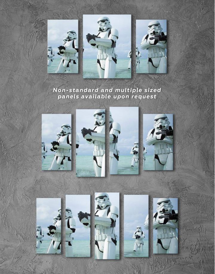 Stormtrooper Star Wars Canvas Wall Art - Image 2