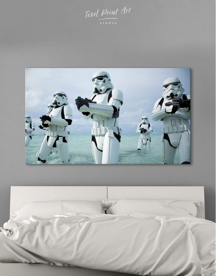Stormtrooper Star Wars Canvas Wall Art - Image 0