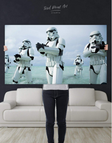 Stormtrooper Star Wars Canvas Wall Art - image 4