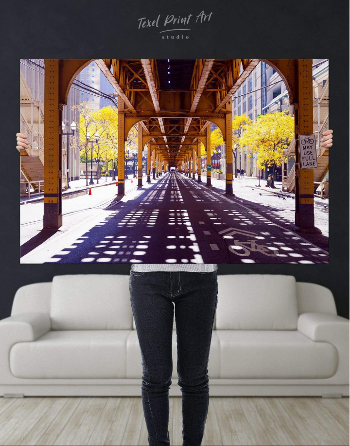 Chicago View Canvas Wall Art - Image 4