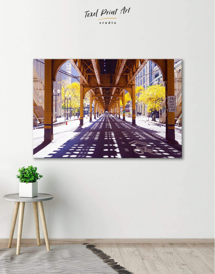 Chicago View Canvas Wall Art