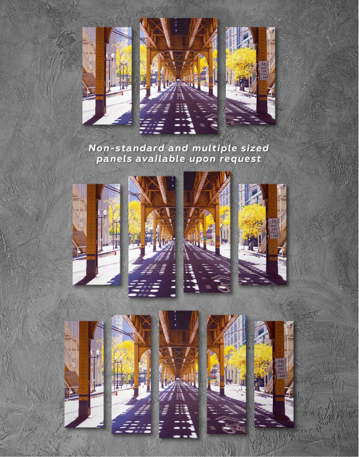 Chicago View Canvas Wall Art - Image 2