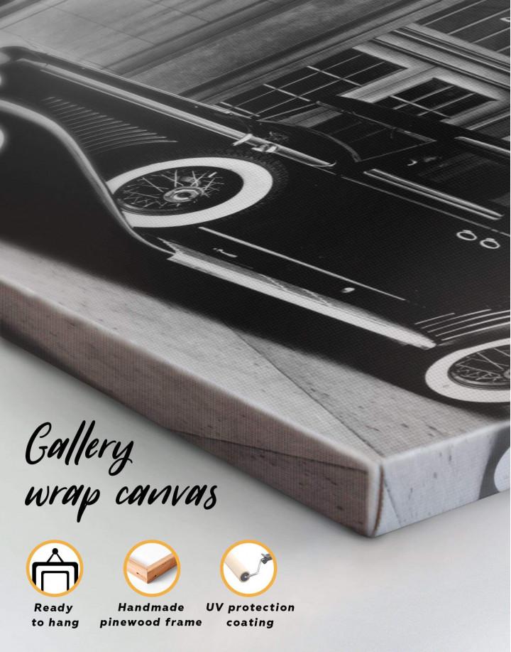 Retro Car Pierce Arrow 12 40 Canvas Wall Art - Image 4