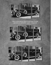 Retro Car Pierce Arrow 12 40 Canvas Wall Art - Image 1
