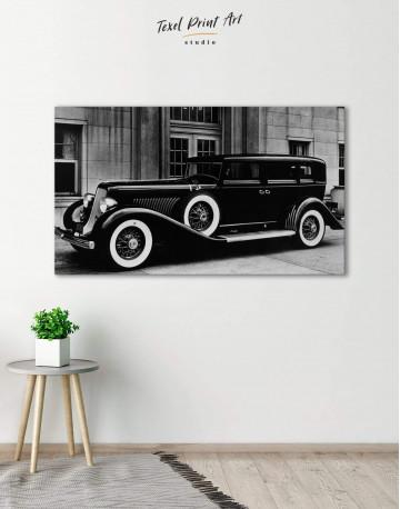 Retro Car Pierce Arrow 12 40 Canvas Wall Art