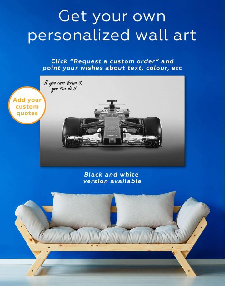 Ferrari SF70H Car Canvas Wall Art - Image 1
