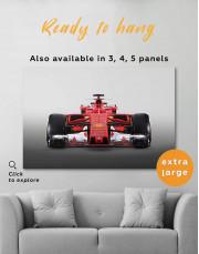 Ferrari SF70H Car Canvas Wall Art - Image 0