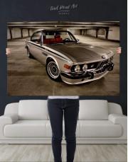 Retro BMW CSL E9 Canvas Wall Art - Image 2