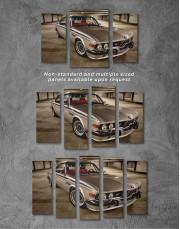 Retro BMW CSL E9 Canvas Wall Art - Image 4