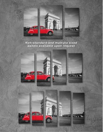 Arc De Triomphe Canvas Wall Art - image 2