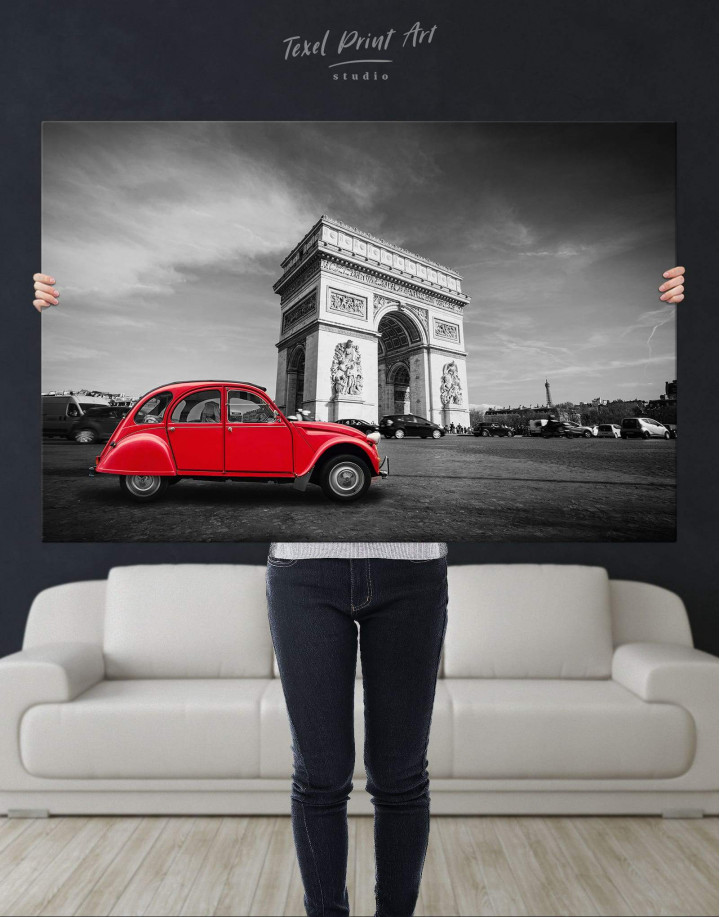 Arc De Triomphe Canvas Wall Art - Image 4