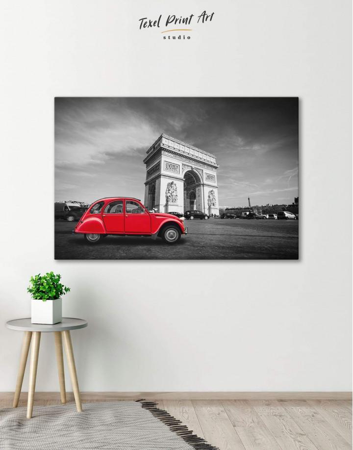 Arc De Triomphe Canvas Wall Art