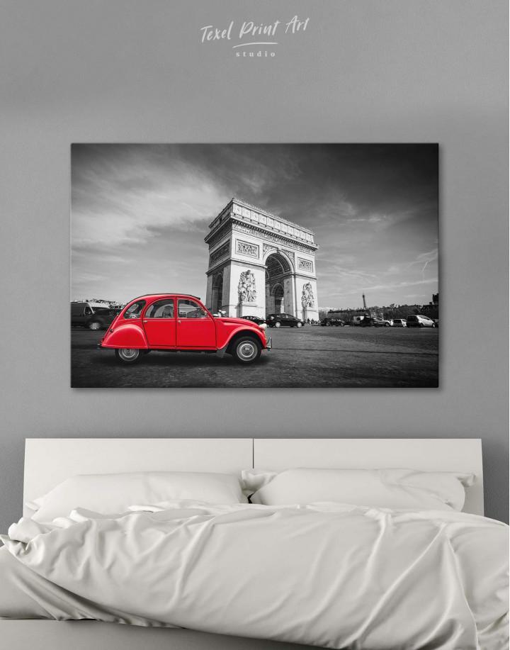 Arc De Triomphe Canvas Wall Art - Image 5