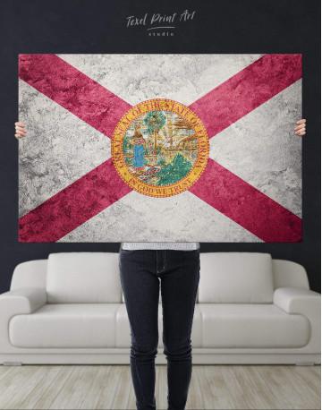 Florida Flag Canvas Wall Art - image 4