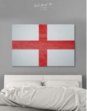 England Flag Canvas Wall Art