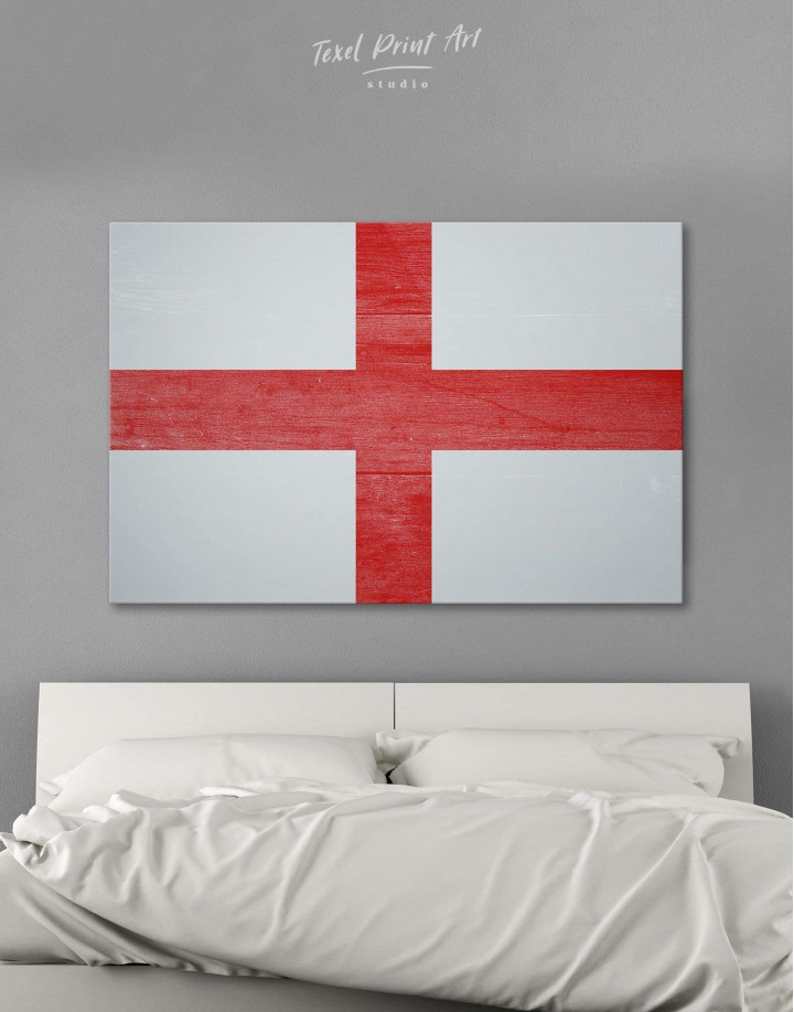 England Flag Canvas Wall Art - Image 0