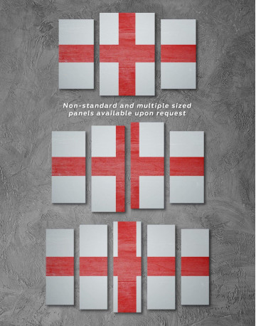 England Flag Canvas Wall Art - image 2
