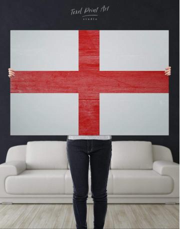 England Flag Canvas Wall Art - image 4
