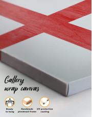 England Flag Canvas Wall Art - Image 5