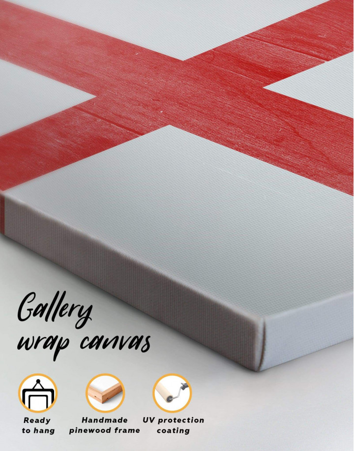 England Flag Canvas Wall Art - Image 5