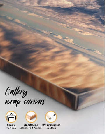 Ocean and Clouds Canvas Wall Art - image 1