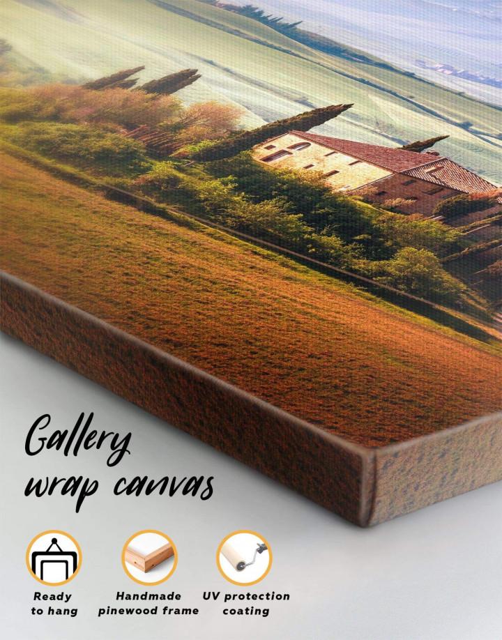 Chiana Valley Italy Canvas Wall Art - Image 5