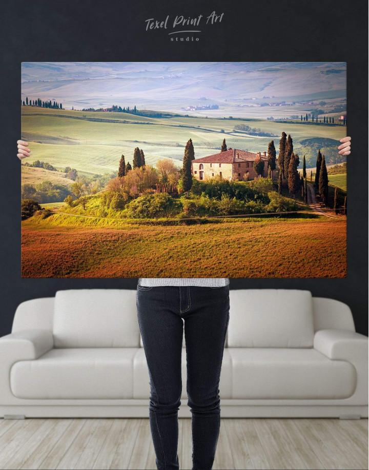 Chiana Valley Italy Canvas Wall Art - Image 4