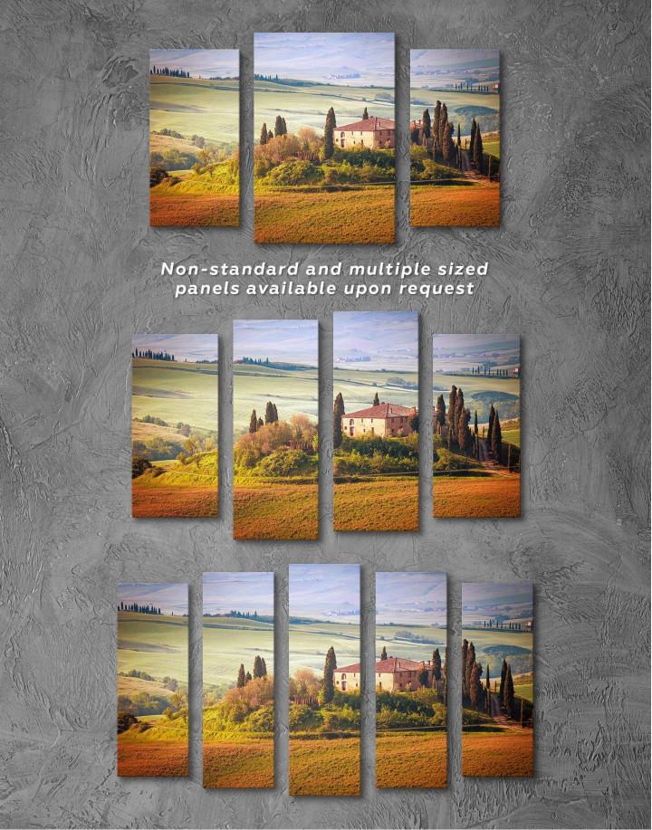 Chiana Valley Italy Canvas Wall Art - Image 2