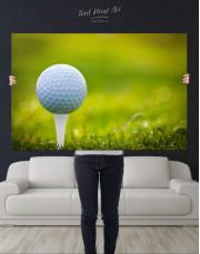 Golf Ball Canvas Wall Art - Image 4