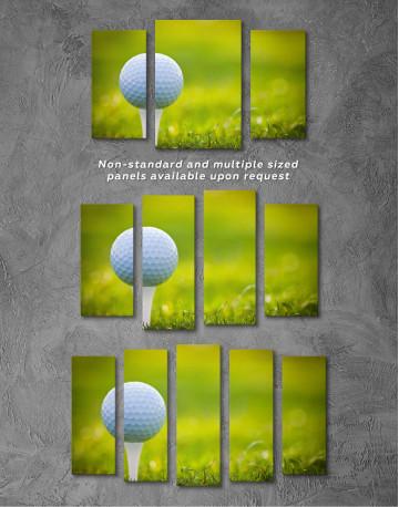 Golf Ball Canvas Wall Art - image 2
