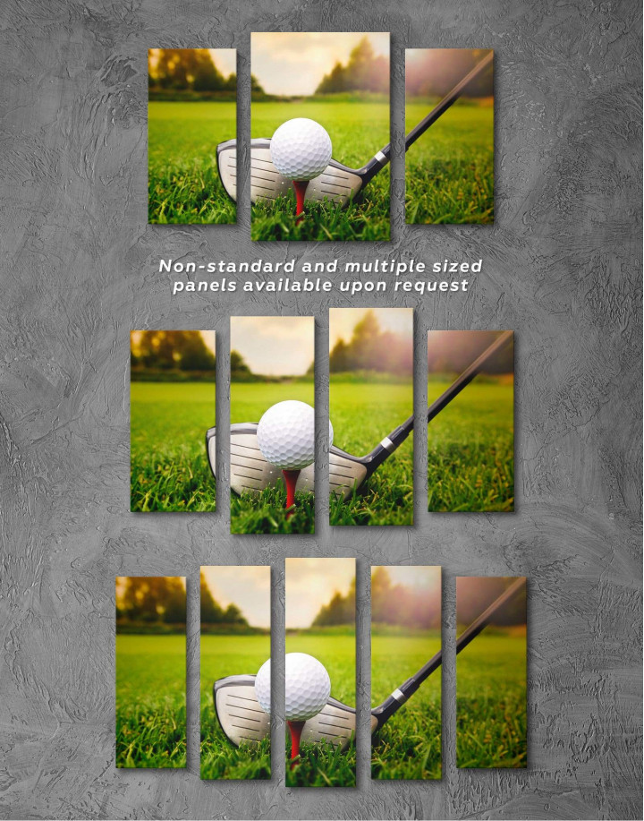 Golf Game Canvas Wall Art - Image 2