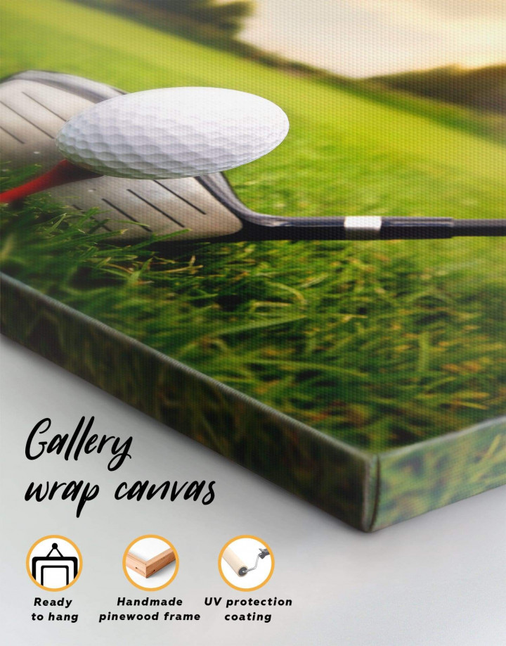 Golf Game Canvas Wall Art - Image 5