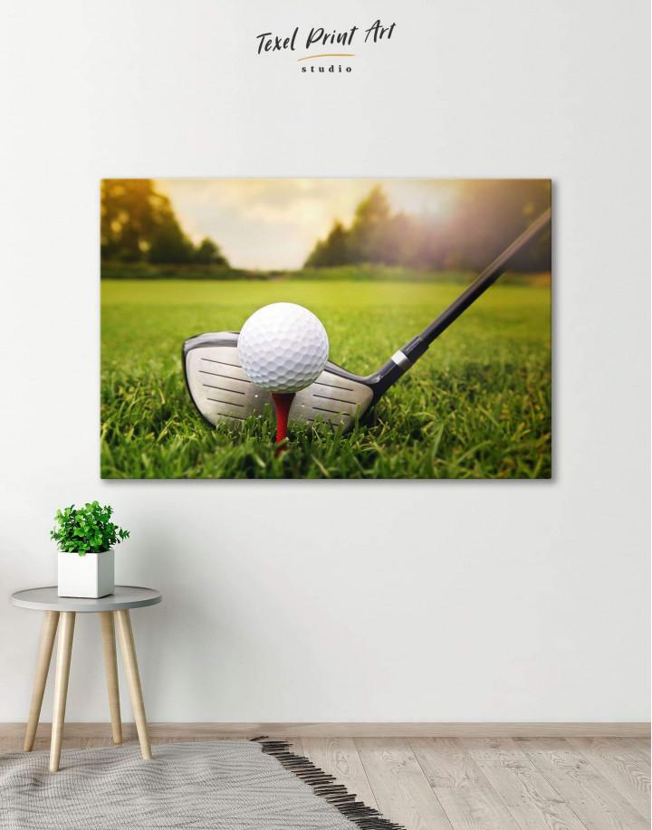 Golf Game Canvas Wall Art