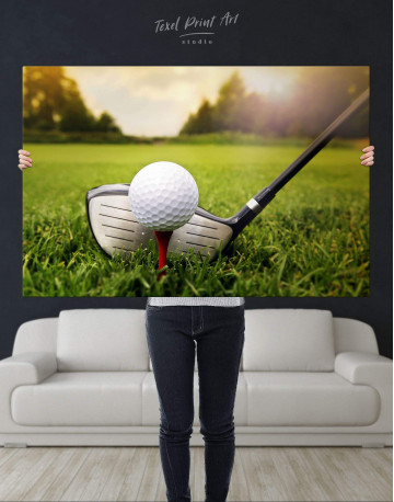 Golf Game Canvas Wall Art - image 4