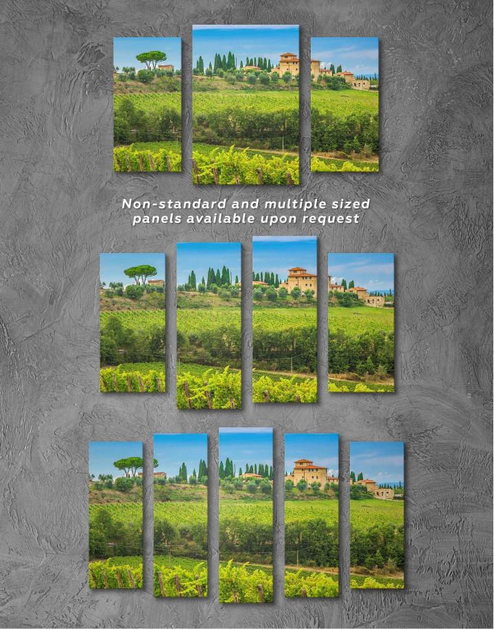 Tuscany Rural Italy Canvas Wall Art - Image 2