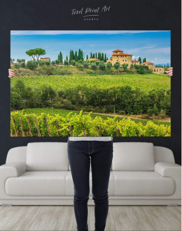 Tuscany Rural Italy Canvas Wall Art - image 4