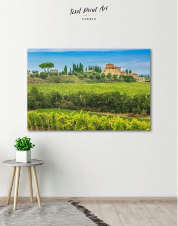Tuscany Rural Italy Canvas Wall Art