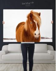Icelandic Horse Canvas Wall Art - Image 2