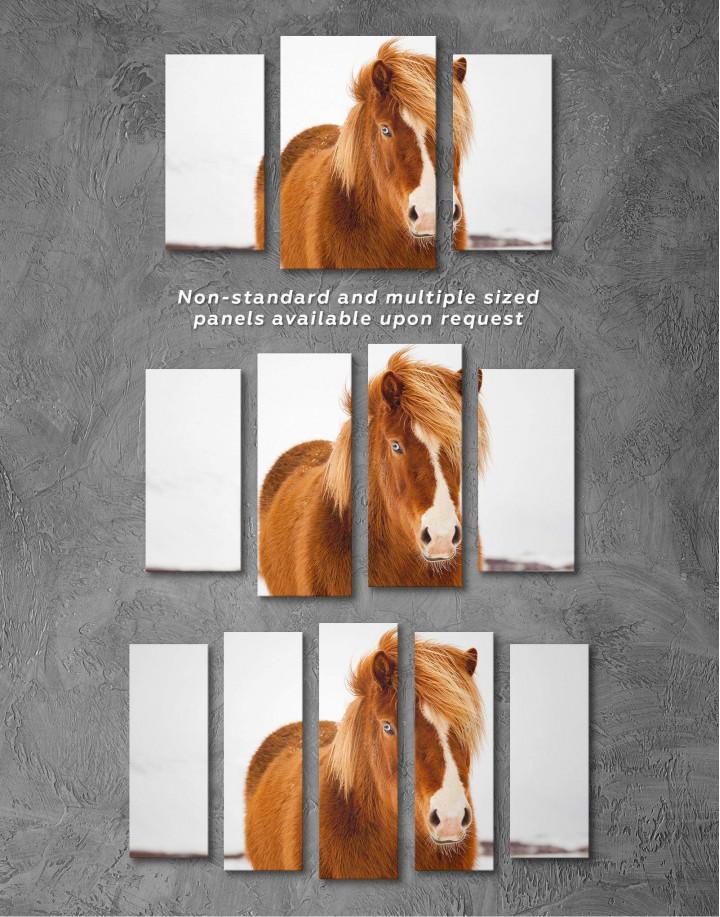 Icelandic Horse Canvas Wall Art - Image 4